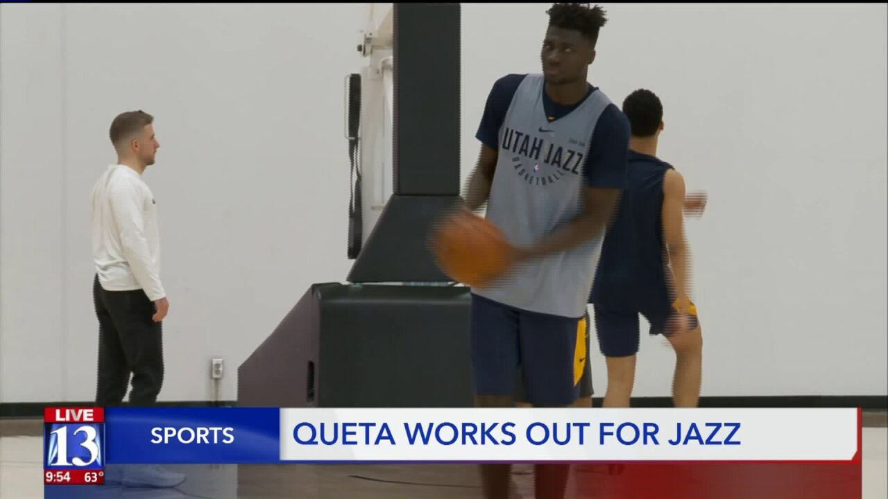 Utah State's Queta joins Jazz for pre-draftworkout