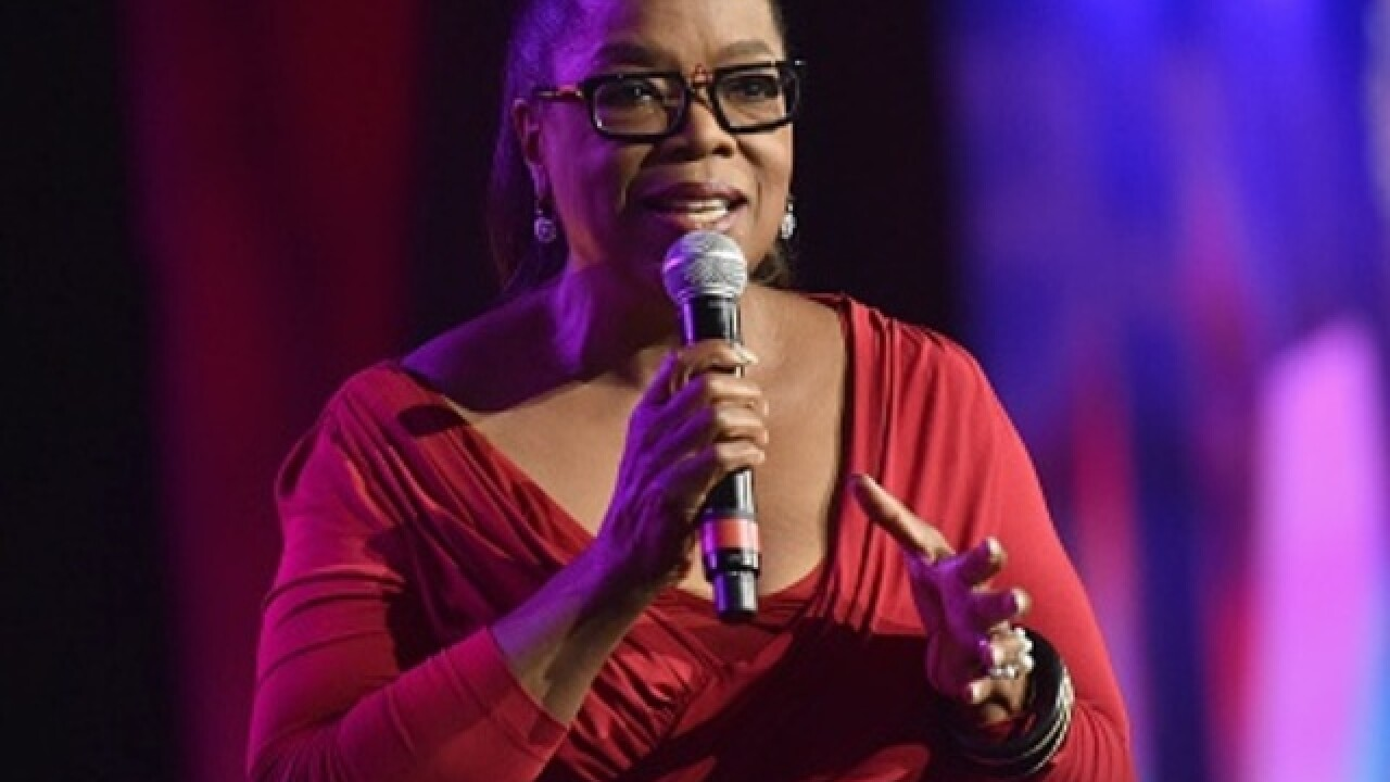 Oprah Winfrey in Milwaukee for Thanksgiving?