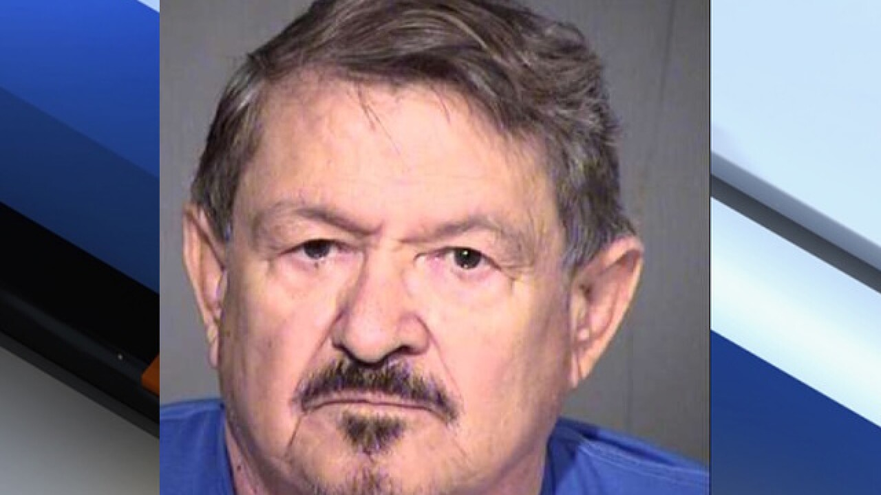 PD: Elderly Phoenix man accused of luring a minor girl for sex