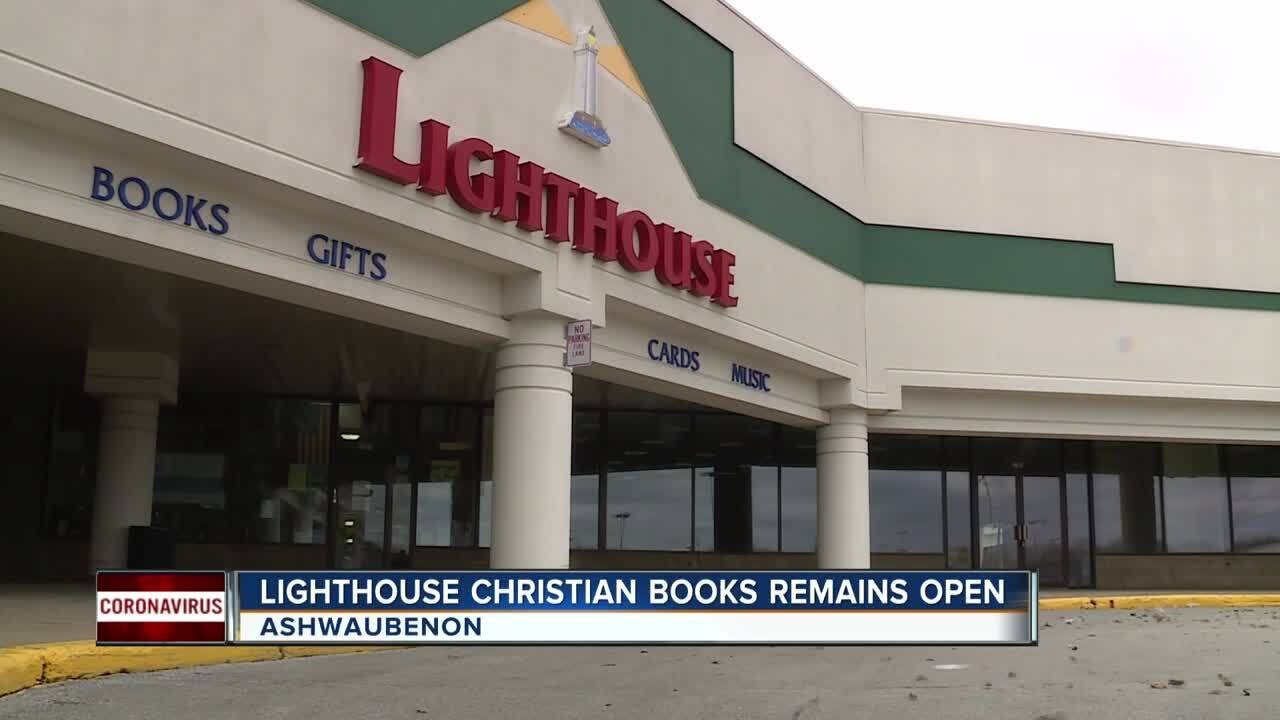 We're Open: Ashwaubenon's Lighthouse Christian Books