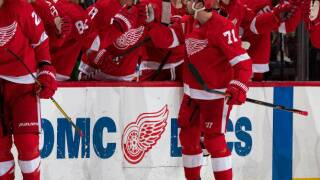 WATCH: Dylan Larkin scores 100th career goal