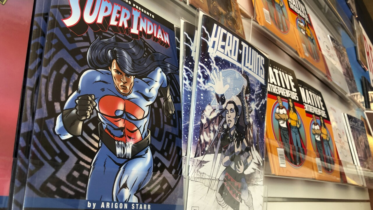 Native Americans Comic Books