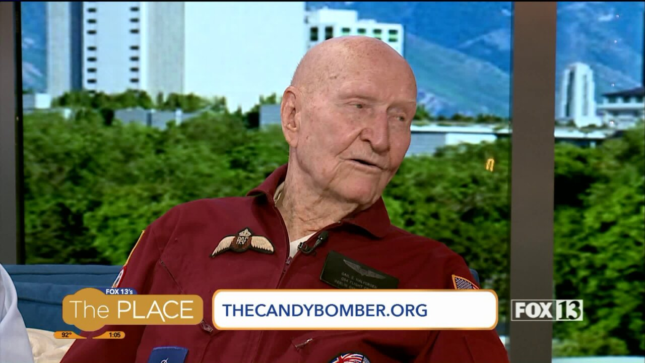 "Come join in on ""Candy Bomber"" fun"