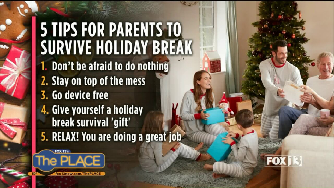 5 things every parent has permission to do this holiday season