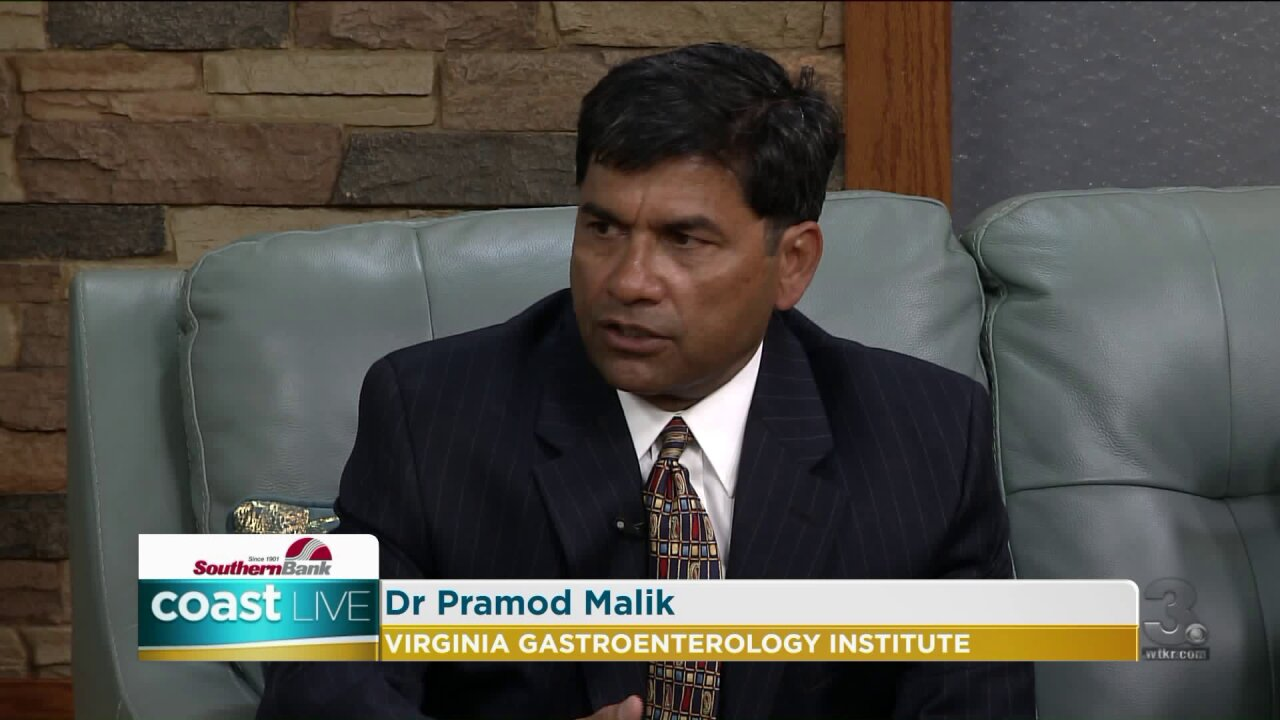 Colon cancer education and prevention with a gastroenterologist on Coast Live