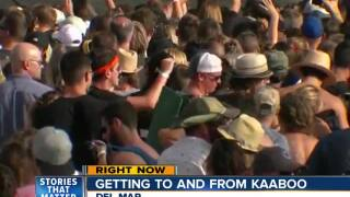 KAABOO Del Mar organizers address transportation crunch
