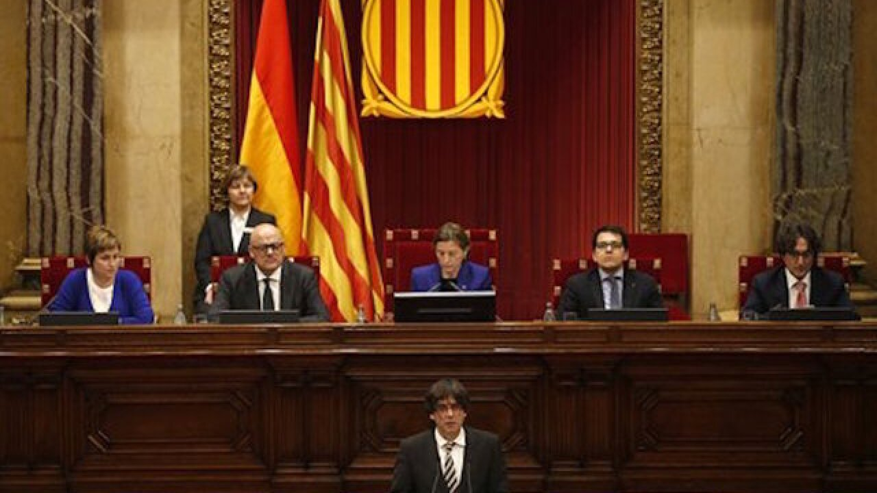 Catalan's new leader to continue secession push