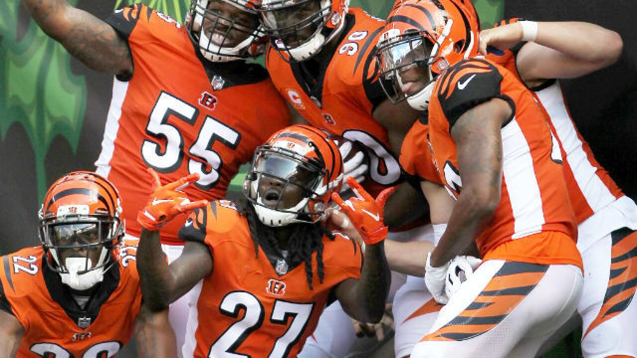 NFL moves Bengals-Chiefs game to Sunday Night Football