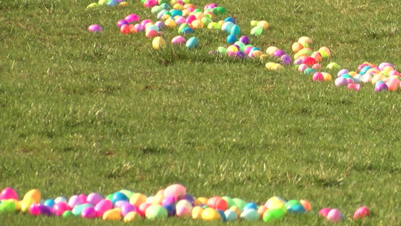 PHOTOS: Whitestown Easter egg hunt