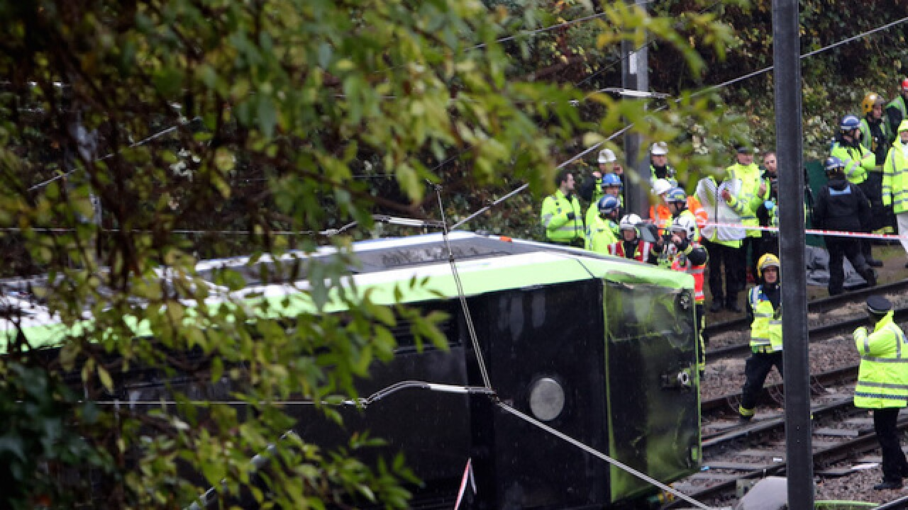 London tram derailment kills at least 7, hurts 50