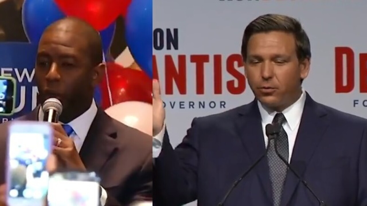 Florida gubernatorial races on the line Tuesday