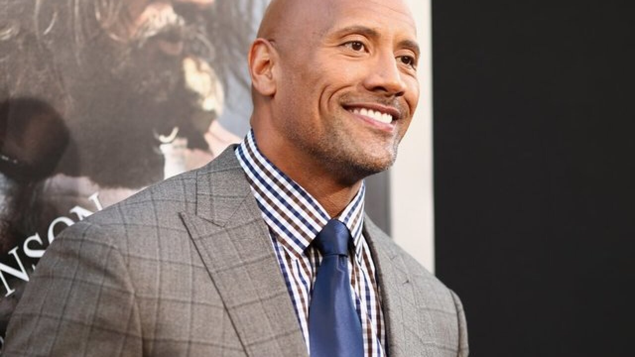 Dwayne 'The Rock' Johnson receives Hollywood Walk of Fame Star