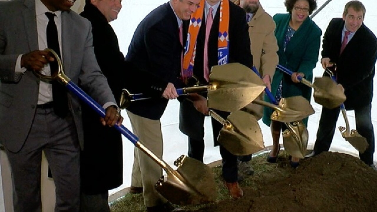 Madisonville breaks ground on mixed-use project