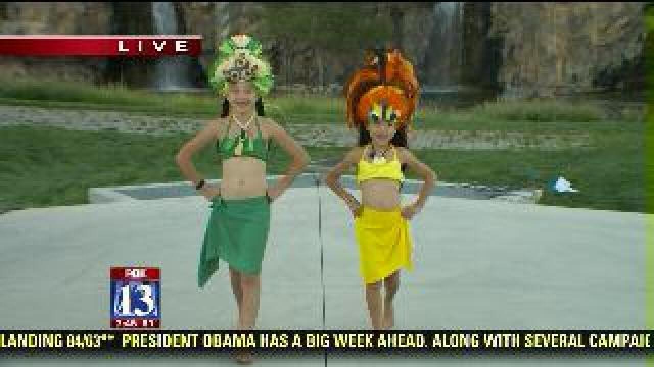 Fashions fit for a luau