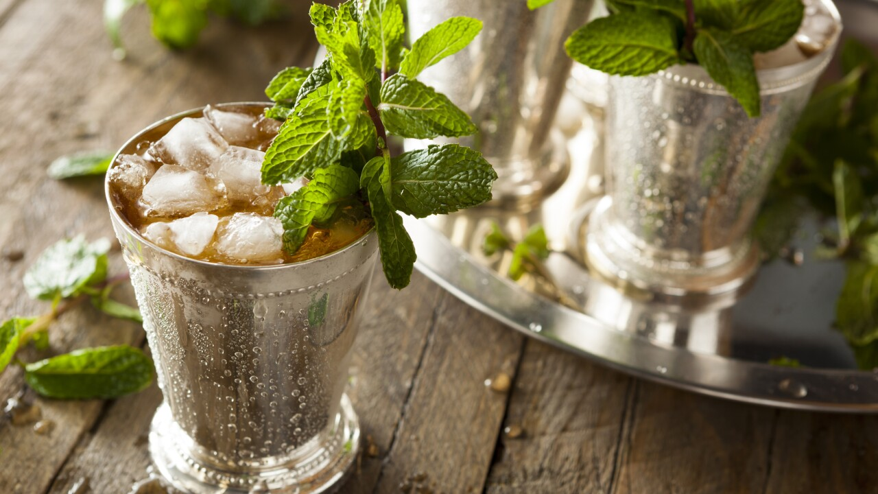 Kentucky Derby: Mint julep for $2,500 anyone?