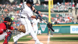 Tigers snap eight-game losing streak, beat Nationals