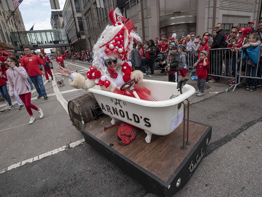 Opening Day parade