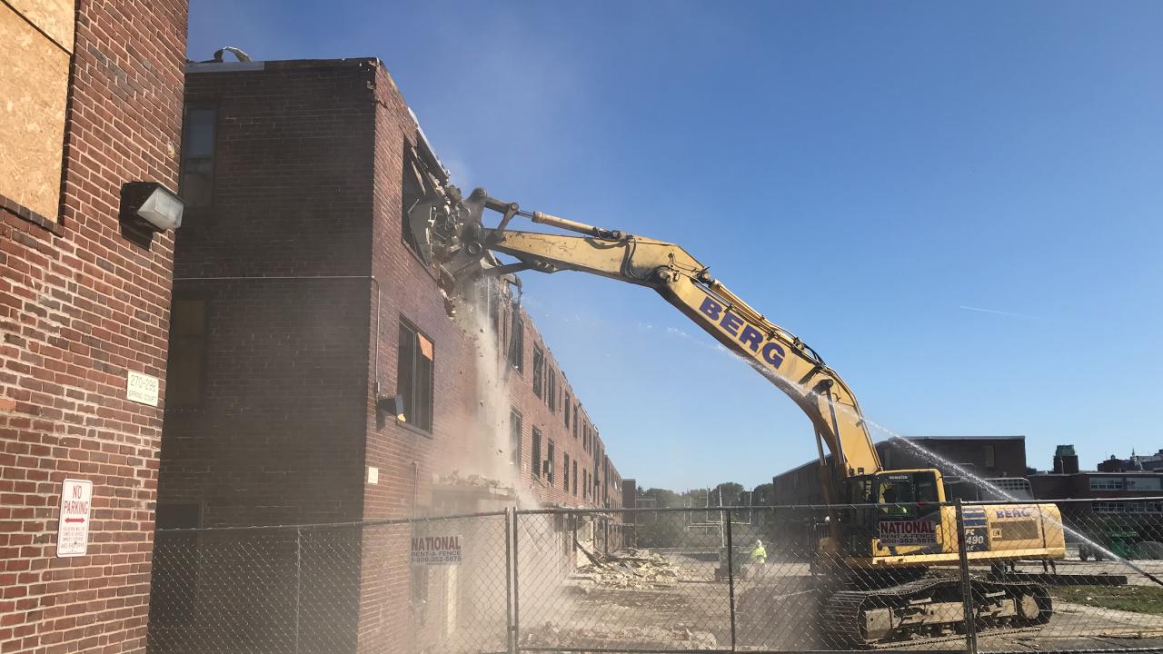 Perkins Homes Demolition