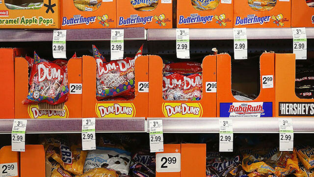 Does your favorite Halloween candy match where you live?