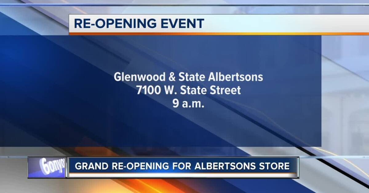 Albertsons celebrating reopening of Boise store