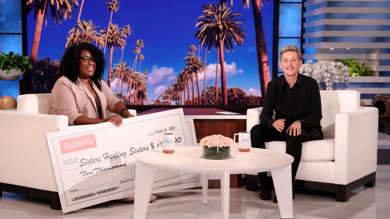 Virginia Beach woman who helps others in need during hard times of her own surprised by Ellen DeGeneres