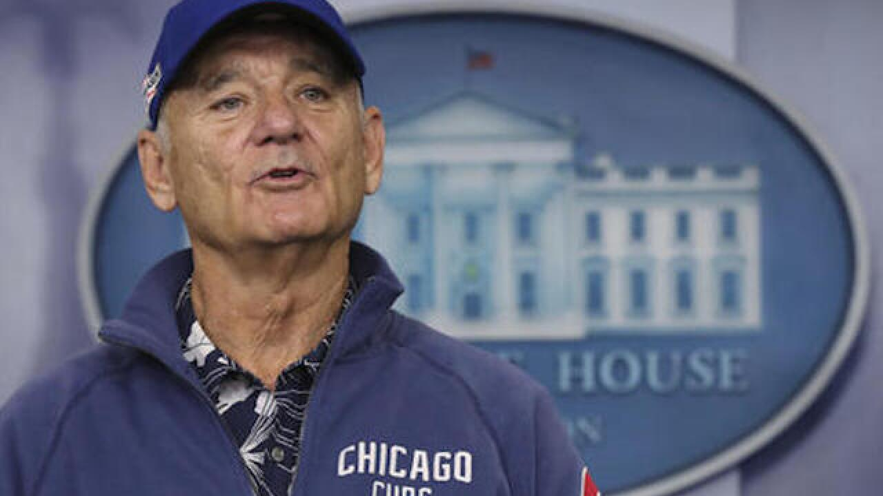 Bill Murray gives random Cubs fan a ticket to World Series