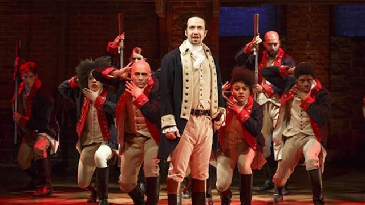 Chicago 'Hamilton' audience member charged after shouting