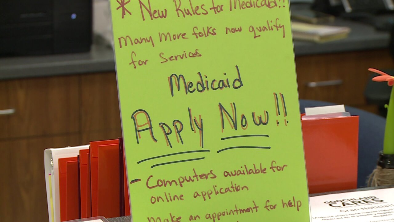 Nonprofit helping families not covered by Medicaid expansion