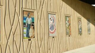 50 mosaics installed at the Santa Fe Drive underpass