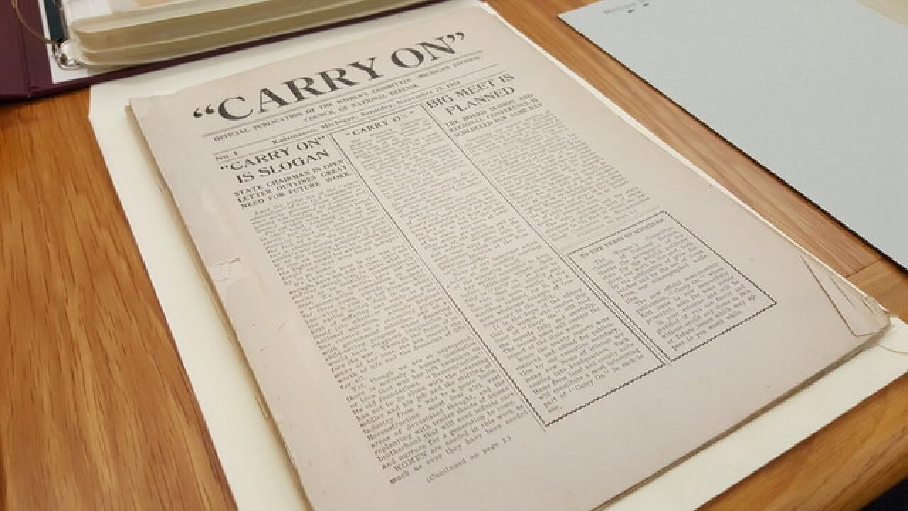 Michigan's Role in World War I