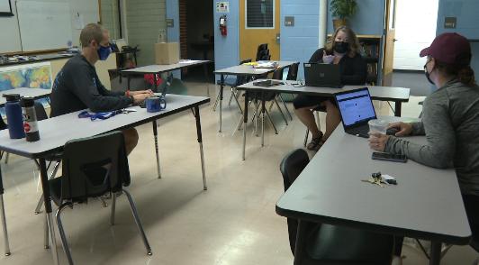 Manual High School classroom