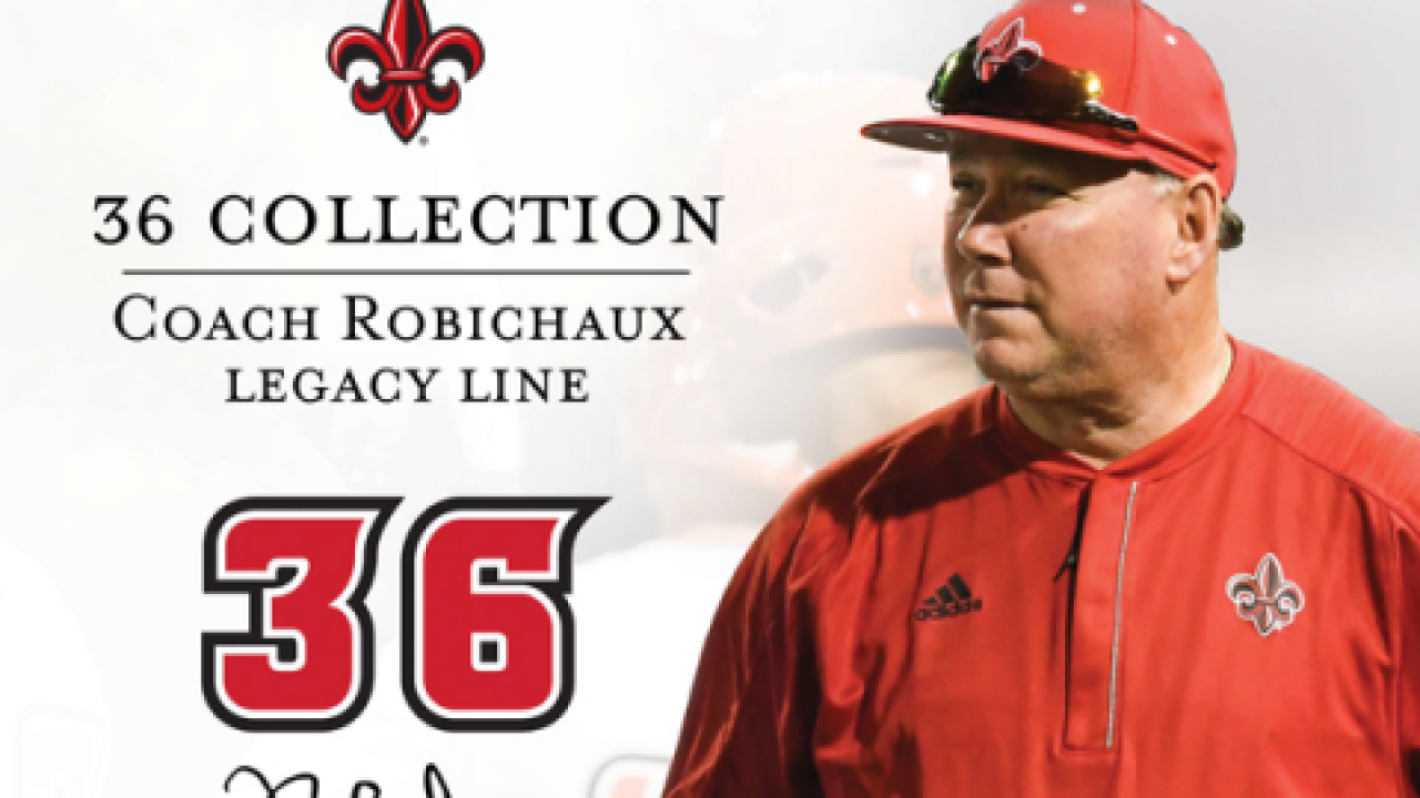 Coach Robichaux sports merchandise