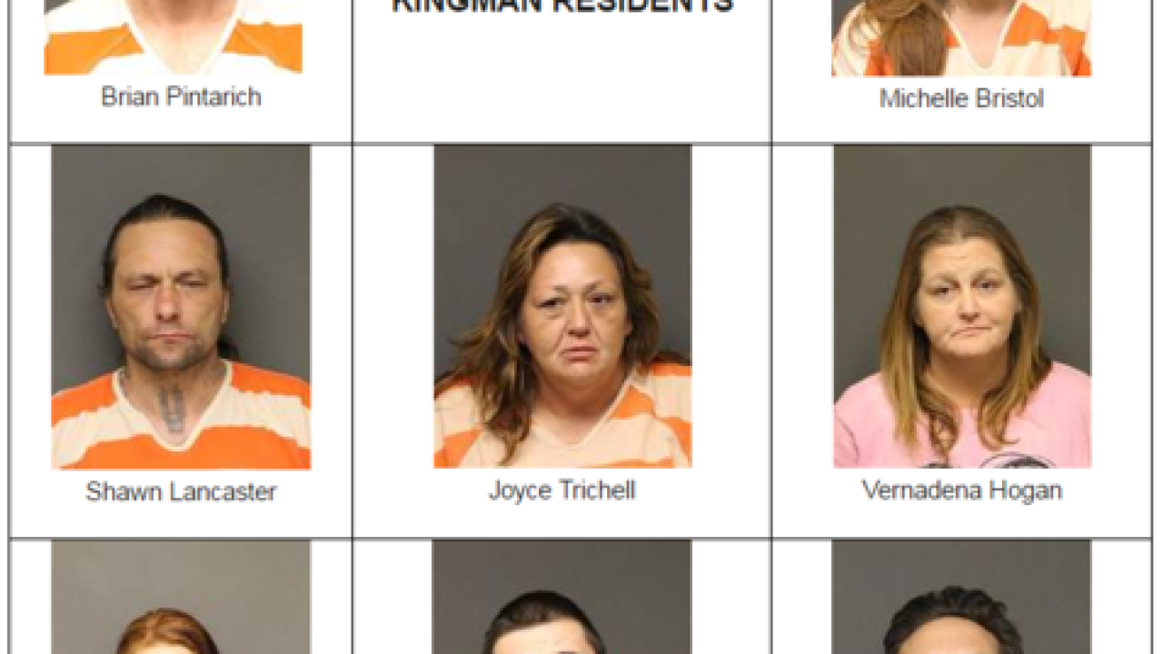8 Kingman residents arrested, mostly for drugs