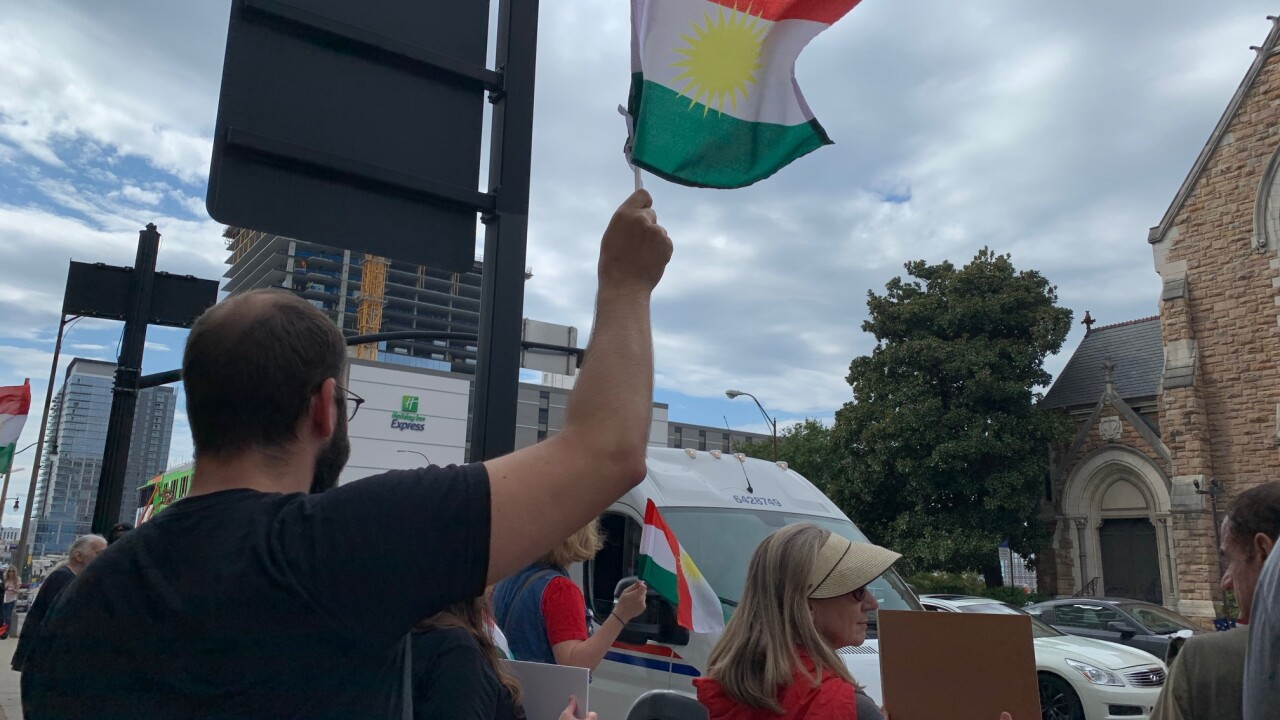 kurdish peace rally
