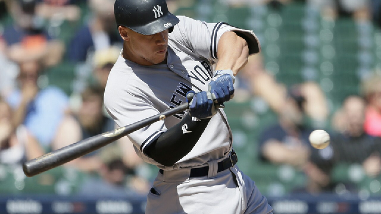 Aaron Judge sets doubleheader K record as Yankees and Tigers split