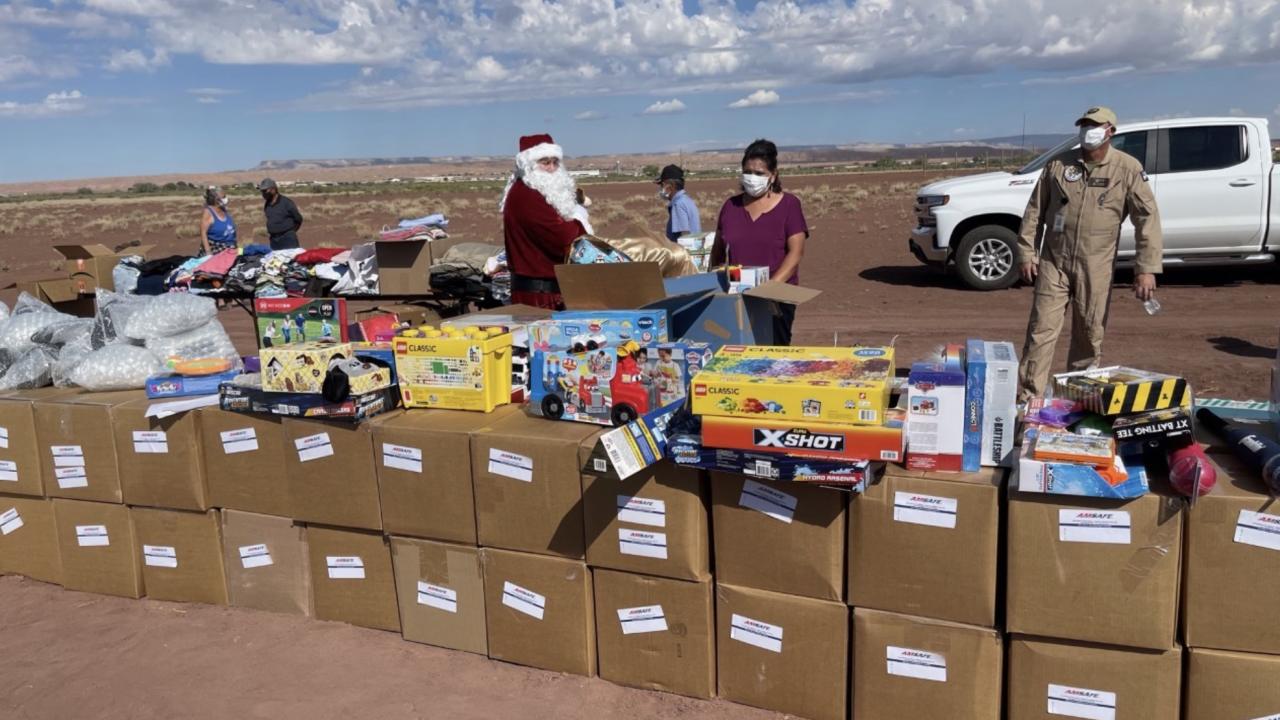 Veteran nonprofit brings Christmas in June to Navajo Nation