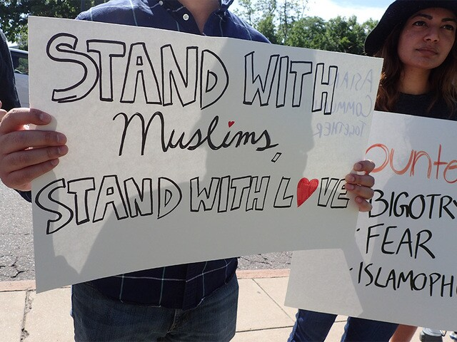 Photos from the March Against Sharia rally in Denver