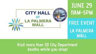 Come visit City Hall at La Palmera Mall