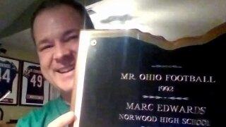High School Insider: Former NFL fullback Marc Edwards reflects on the Ohio Mr. Football Award