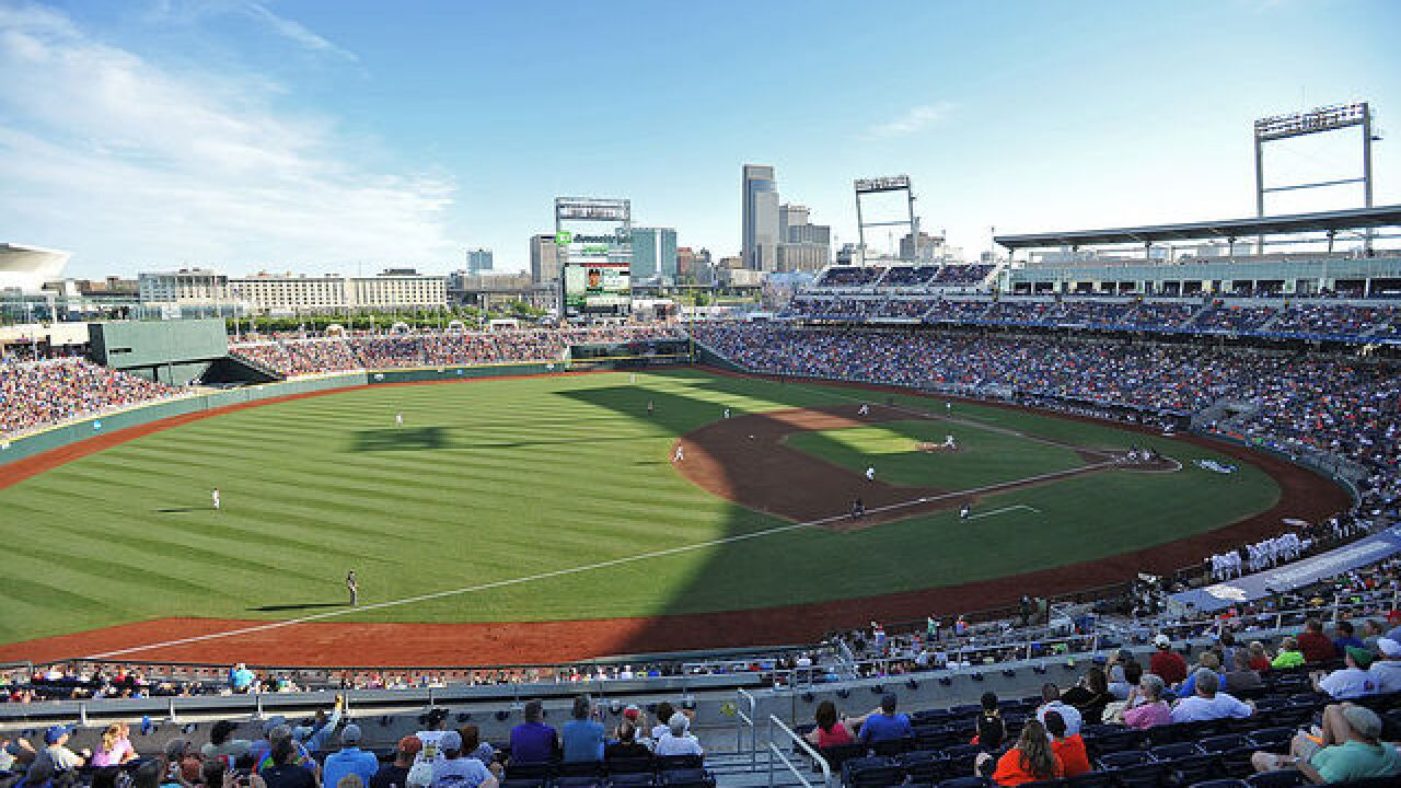 College World Series Championship Game One: Arkansas vs. Oregon State live updates