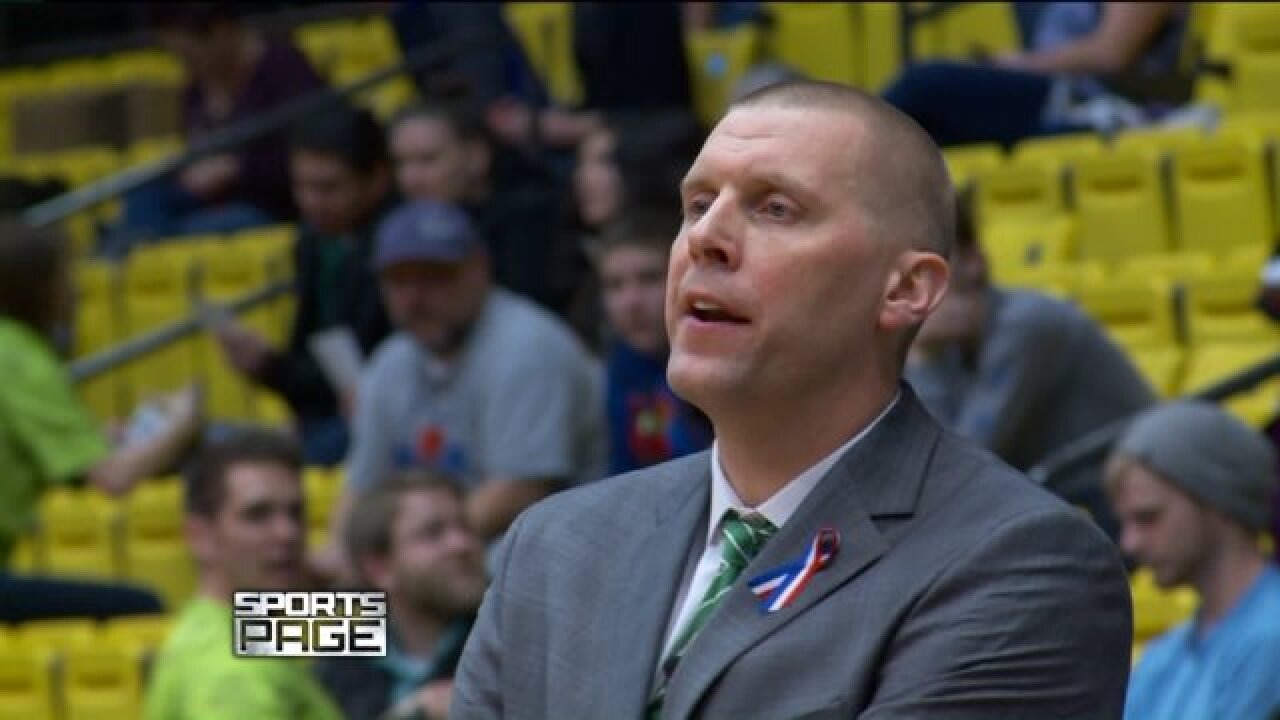 Mic'd up with UVU basketball coach Mark Pope during buzzer-beater win