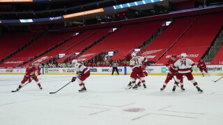 Hurricanes Red Wings Hockey