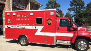 Suffolk's first responders, such as those who work on ambulances, need protective gear during the COVID-19 outbreak.