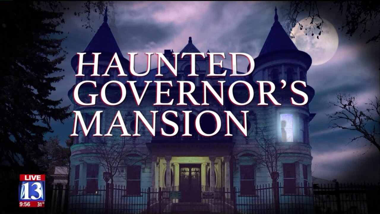Utah's first lady gives tour of our haunted governor's mansion