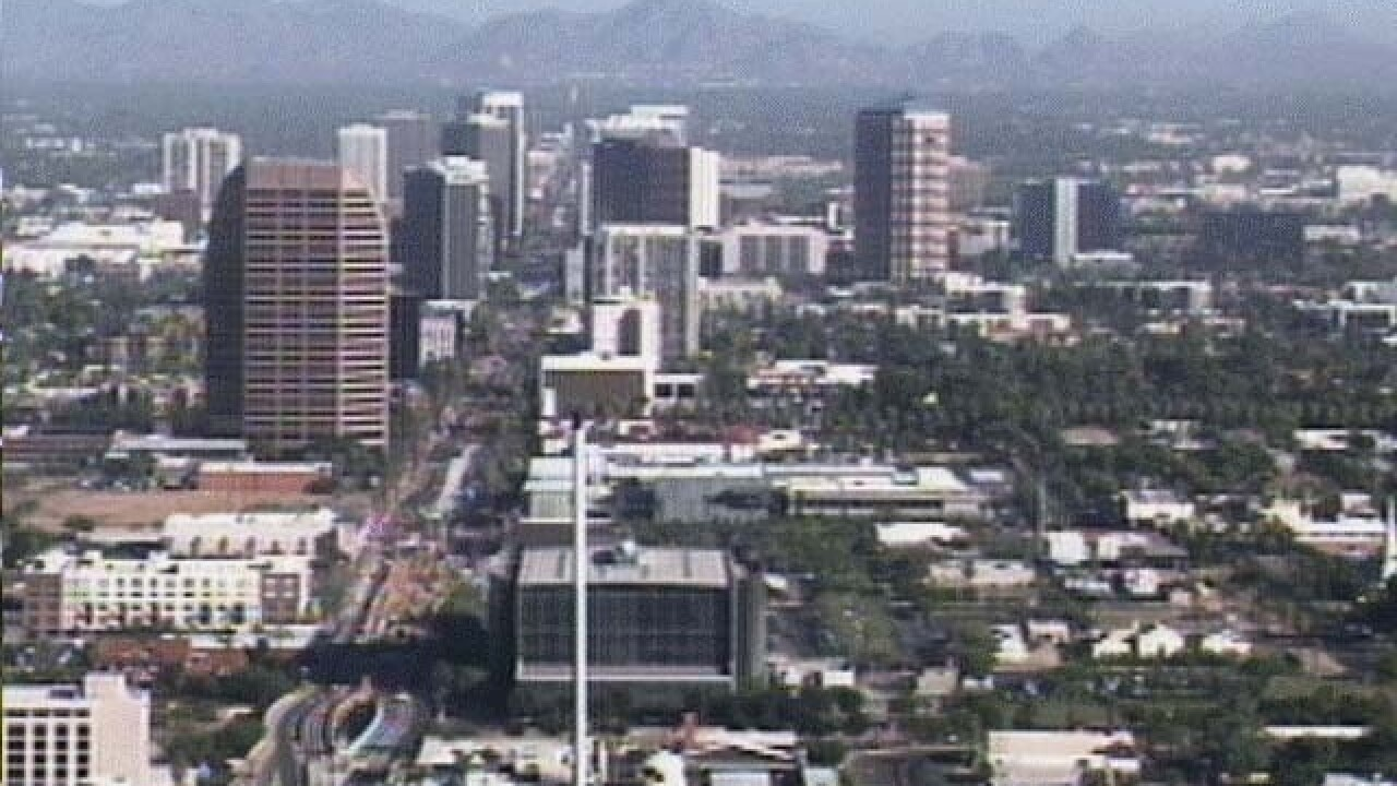 Record heat in Phoenix area leads to near-record power usage