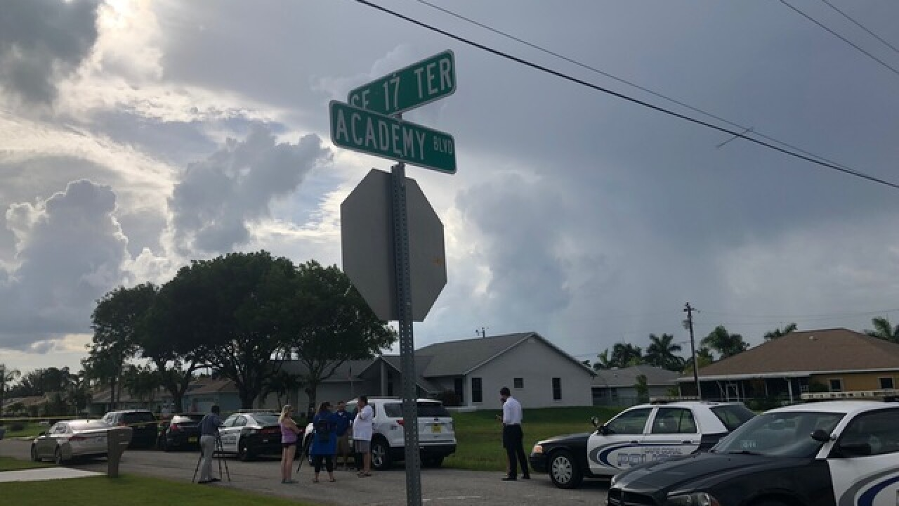 One shot in southeast Cape Coral