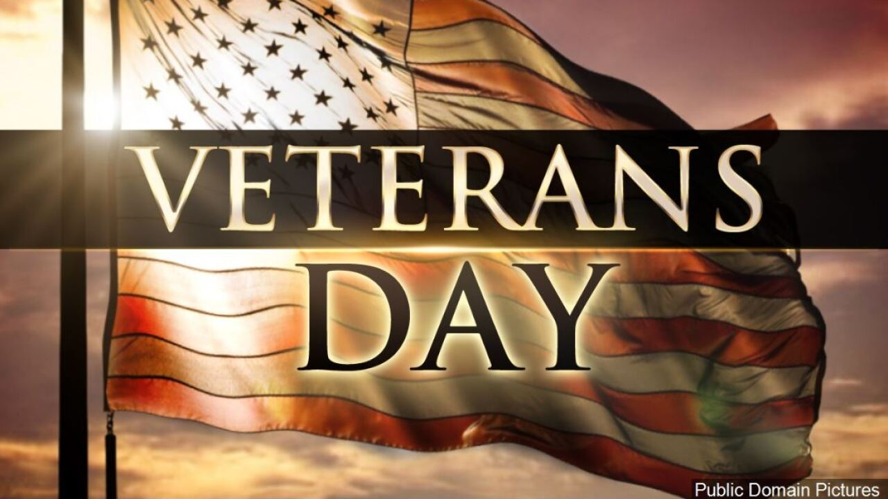 Veterans Day events and freebies in Acadiana