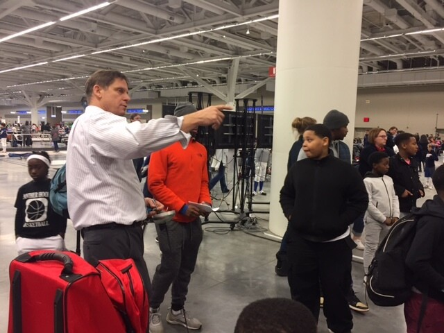 Cleveland's youth participate in USA Fencing Clinic