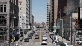 Denver traffic empty