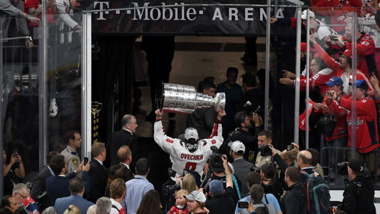 Capitals party with Stanley Cup at Hakkasan